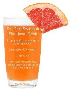 DR. OZ'S SWIMSUIT SLIMDOWN DRINK | Majic 102.1