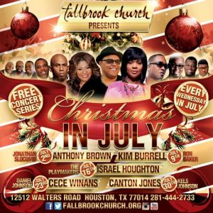 Fallbrook Church Christmas In July 2020 Christmas In July Featuring Canton Jones | Majic 102.1