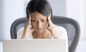 black-woman-at-work-stressed