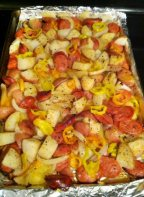 Loaded Baked Potato & Sausage Casserole Recipe