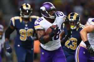 Minnesota Vikings v St. Louis Rams