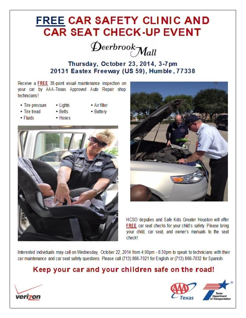 Free Car Safety Clinic | Majic 102.1