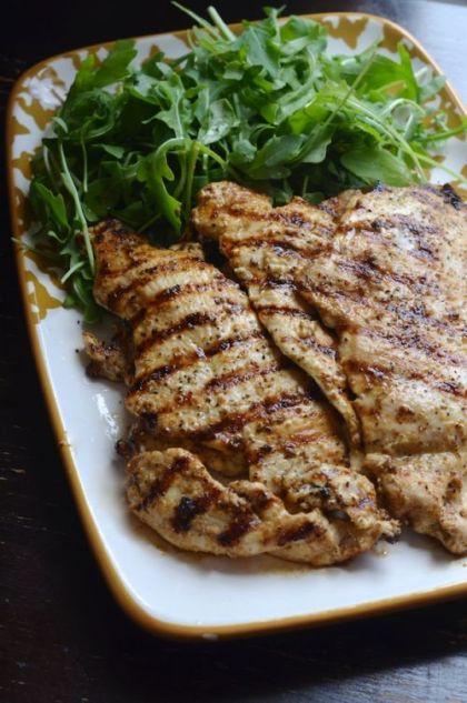 Easy Lemon Garlic Grilled Chicken Breasts | The Yolanda Adams Morning ...