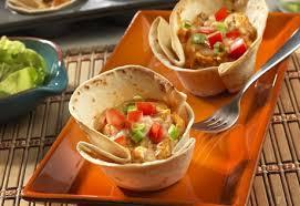 Mini Cheesy Chicken Enchilada Cups!