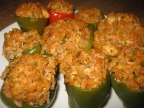 New Orleans Style Stuffed Bell Peppers Recipe