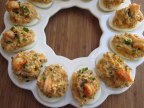 CRAWFISH-STUFFED DEVILED EGGS RECIPE