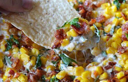 Cheesy Bacon Jalapeno Corn Dip Recipe