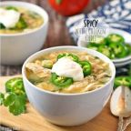 Spicy White Chicken Chili Recipe