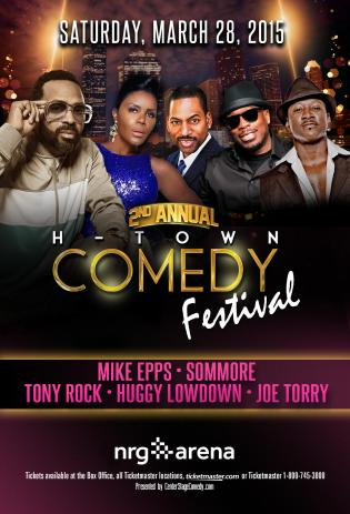 2015 2nd Annual H-Town Comedy Festival
