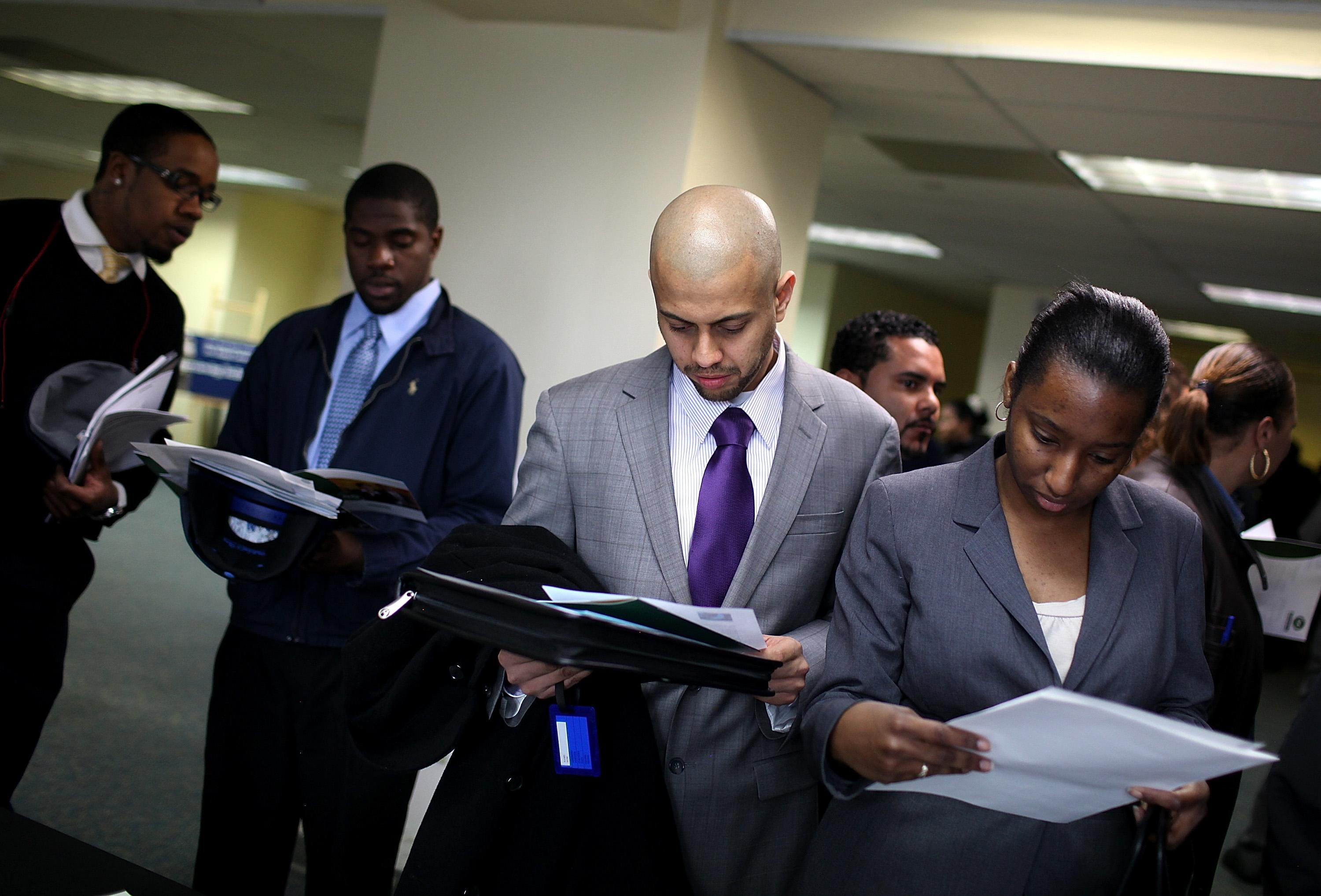 New York State Government Hosts Job Fair In Brooklyn