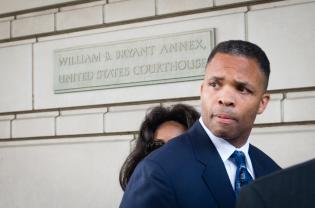 WASHINGTON, DC - AUGUST 14: Jesse L. Jackson Jr. was sentenced