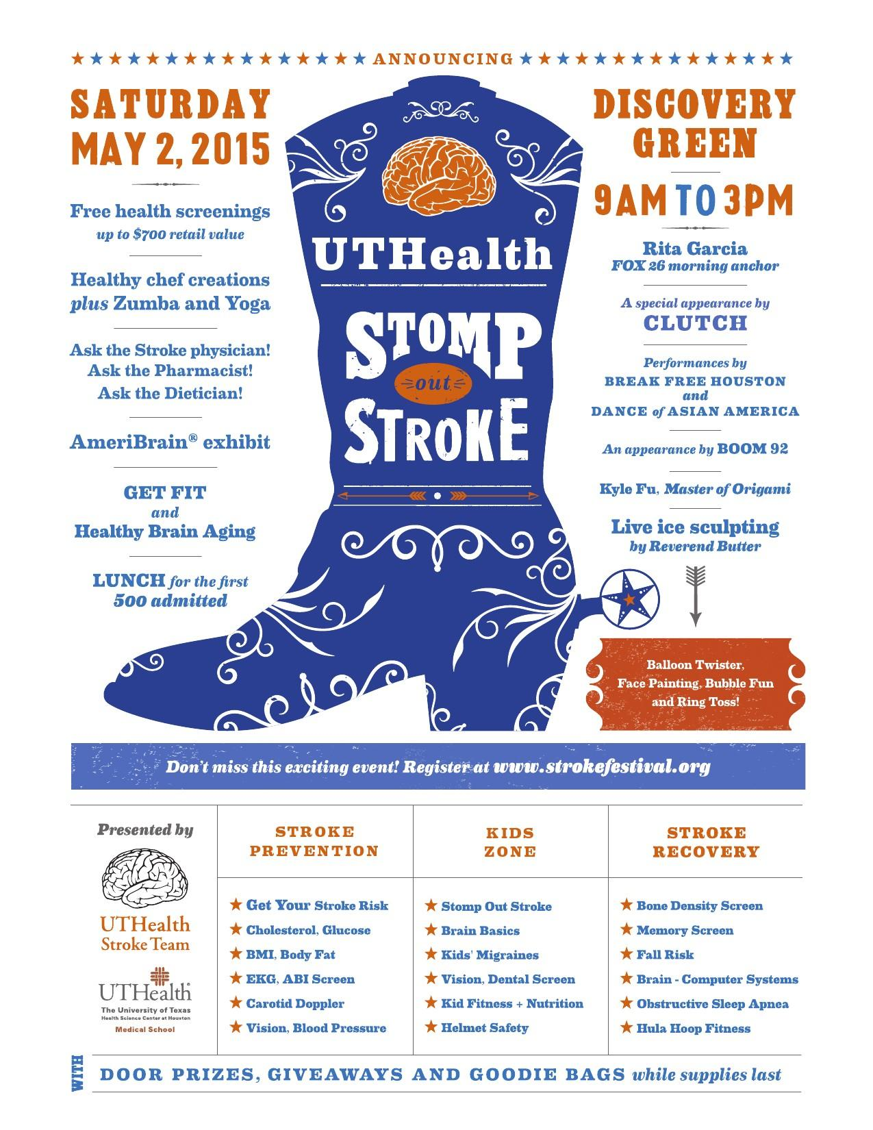 UT Health Stomp Out Stroke