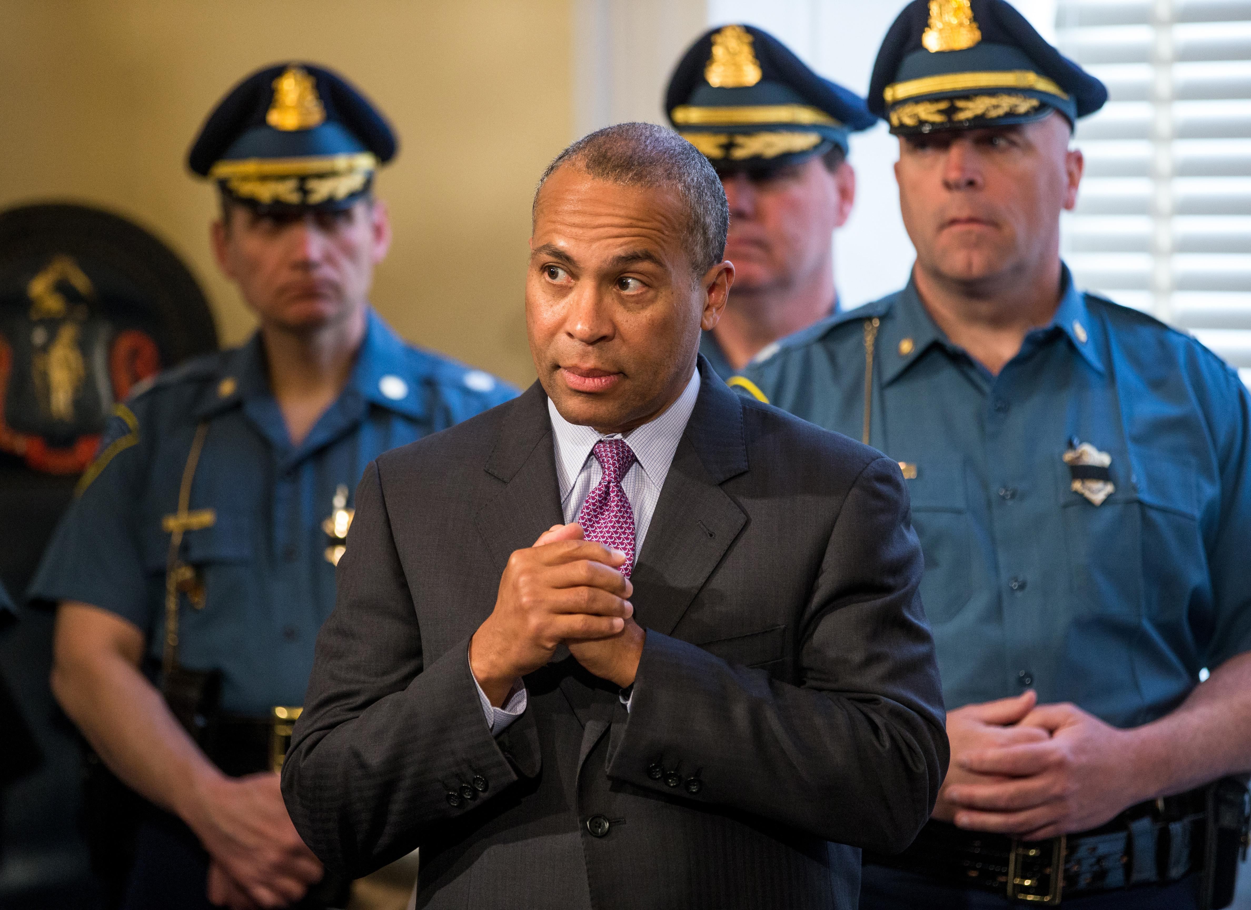 Gov. Deval Patrick Honors Boston Marathon Bombing Response