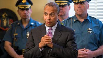 Gov. Deval Patrick Honors Boston Marathon Bombing Response