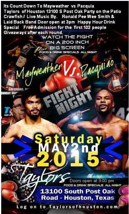 Mayweather vs Pacquiao revised vlyer