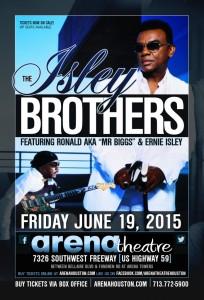 Isley Bros at Arena Theatre