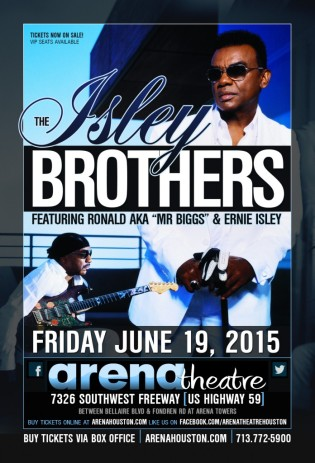 Isley Bros at Arena Theatre