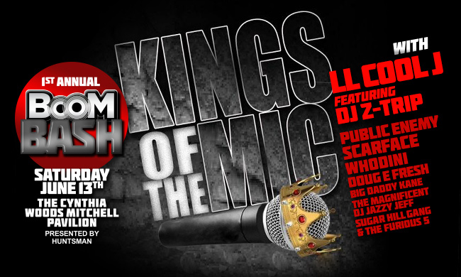 Kings Of The Mic Tour Graphic
