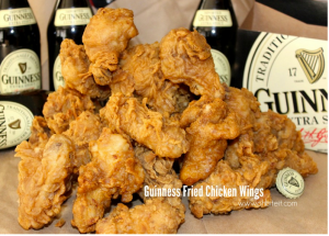 Guinness Fried Chicken Wings!