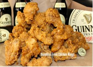 Guinness Fried Chicken Wings!