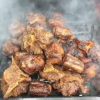 Smoked Jamaican Jerk Oxtails Recipe