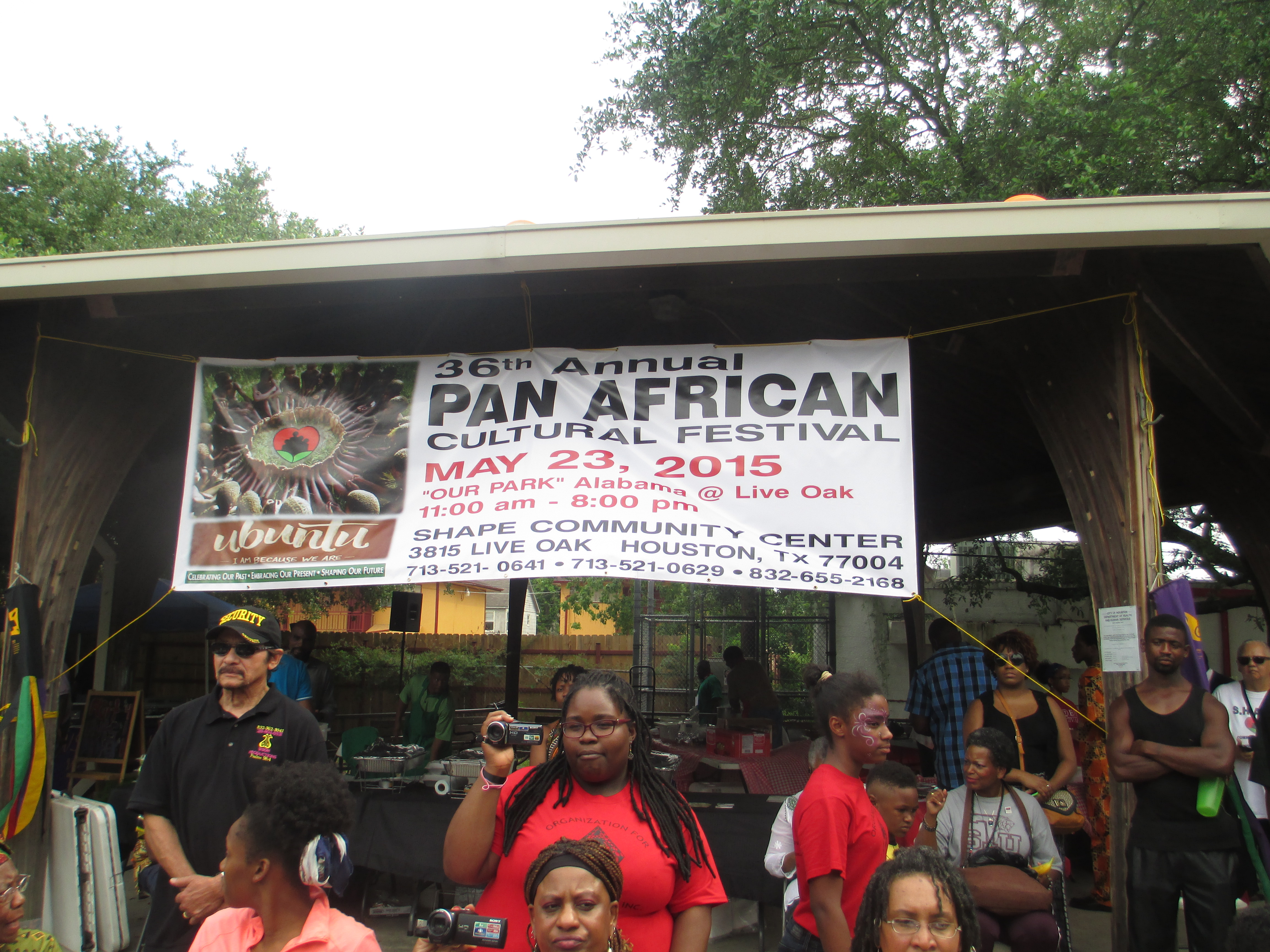 Houston african action