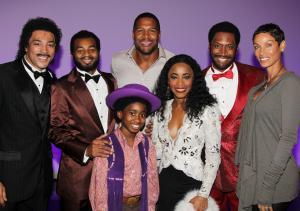 Celebrities Visit Broadway - October 11, 2013