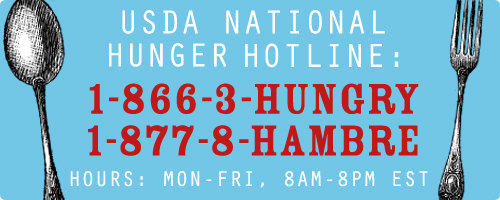 TOLL-FREE HUNGER HOTLINE ENABLES STRUGGLING TEXANS TO ACCESS LOCAL FOOD HELP