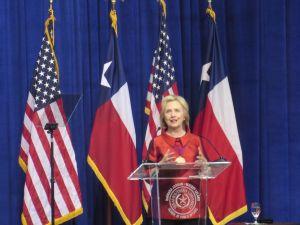 Hillary Clinton Receives Barbara Jordan Leadership Award at TSU