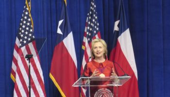 Hillary Clinton Receives Barbara Jordan Leadership Award at TSU