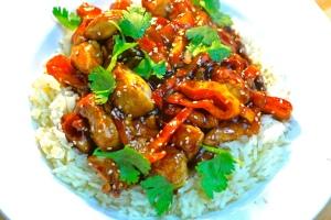 Spicy Sesame Chicken Recipe