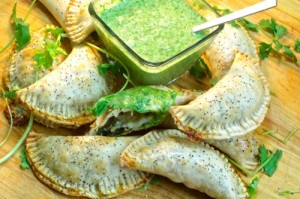 Chicken & Spinach Empanadas Recipe