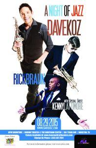 A Night of Jazz Flyer
