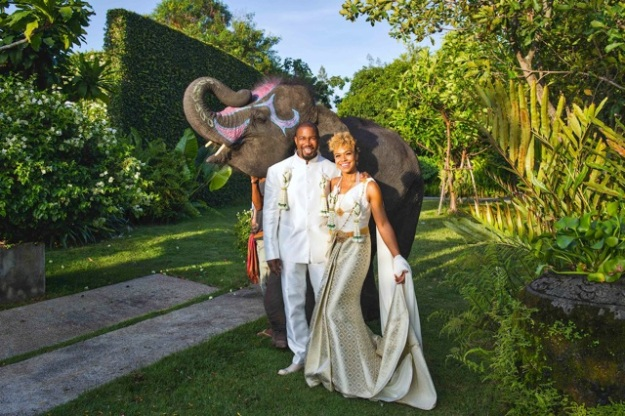 Michael Jai White Weds in Thailand