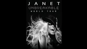 janet jackson tour flyer