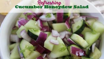 Cucumber Honeydew Salad Recipe