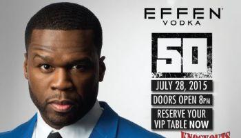 Major Brands 50 Cent Event