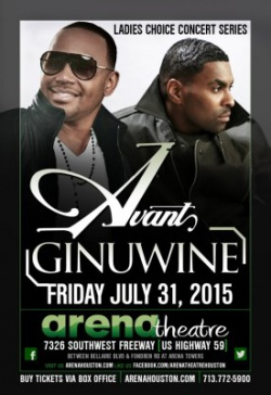 Avant & Ginuwine at the Arena Theatre