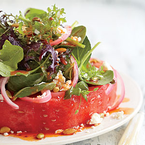 "Recipes » Watermelon ""Steak"" Salad Watermelon ""Steak"" Salad"