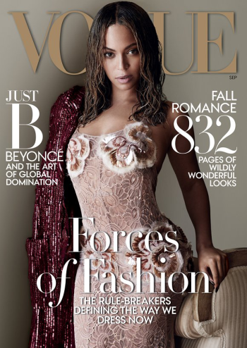 Beyoncé September 2015 Vogue Cover
