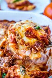 Easy Cheesy Ravioli Lasagna