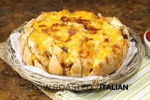 Bacon Cheeseburger Bread Recipe