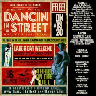 dancin in the street flyer