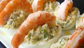Shrimp and Deviled Eggs