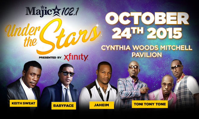 Majic Under The Stars Flyer