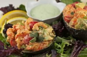Crawfish Stuffed Avocado