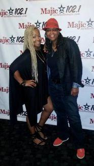 Dana Jackson and Monifah