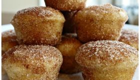 Snickerdoodle Donut Muffins Recipe