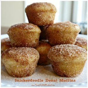 Snickerdoodle Donut Muffins Recipe