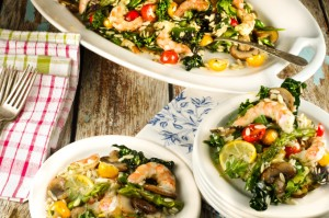 Shrimp and Kale Salad Recipe